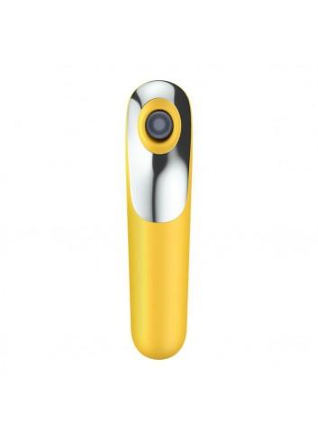 Dual love bezdotykowy masażer łechtaczki z wibracjami sterowany telefonem